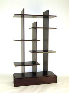 "Modern Skyline 63"" Bookcase | - Too Modern?"