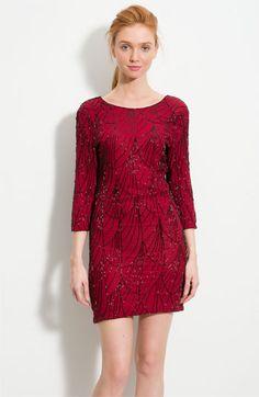 Beaded Silk Dress. #nordstrom $398.00