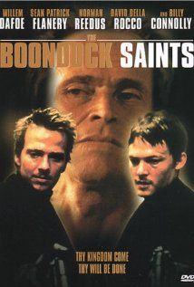 At one point in my life, this movie, was the only movie that existed between a core group of friends and I.  We quoted it daily.  Also, I have never seen the F word used as much in one movie as it was in The Boondock Saints.
