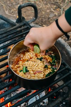 Pho Ramen campfire meal plus Camping Recipes the family will love. Pho Ramen campfire meal plus Camping Recipes the family will love. Camping Desserts, Camping Recipes, Camping Hacks, Camping Cooking, Camping Essentials, Rv Camping, Good Camping Meals, Camping Food Healthy, Camp Stove Recipes