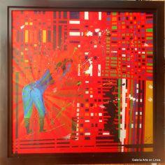 Mujer  Padín Pintura Acrílico sobre tela 160 x 160  cms. 2016 $ 120, 000.00 M.N  #emocioneterna #proyectonomada #centrodeportivoisraelita #cdi #gael #galeriartenlinea #pasionporelarte #artistasparticipantesemocioneterna @galartenlinea