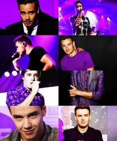 LIAM IN PURPLE ! IM DONEE>>>> purple really suits him like how has no one noticed this?!
