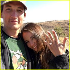 Miles Teller & Keleigh Sperry Are Engaged – See Her Ring!