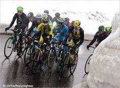 The Stelvio climb is 20km long, and at 2760 meters was the coldest point on the day.