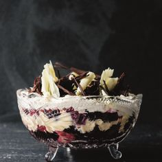 This trifle is full of decadent flavours and textures and is the perfect crowd pleasing pudding