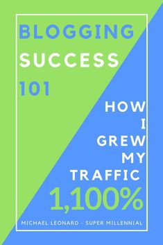 Check out how I was able to grow my blog traffic 1,100% with these six strategies!