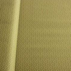 Sevenberry Geo Cotton - Seikaiha Ripples Khaki