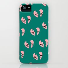 Broken Hearts iPhone & iPod Case by Bouffants and Broken Hearts - $35.00