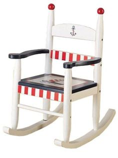 Image detail for -Kids Nautical Rocking Chair - Kids Decorating Ideas