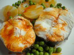 Merluza a la gallega #gastronomíagallega