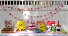 Storybook Birthday Party for all those Book Lovers!