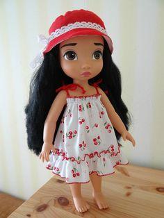 robe d'été + chapeau de soleil