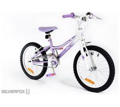 Buy Silverfox Flutter 18 Inch Bike - Girls' at Argos.co.uk, visit Argos.co.uk to shop online for Children's bikes, Bikes and accessories, Sports and leisure