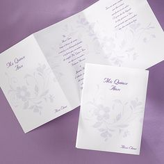 Fancy Floral - Invitation