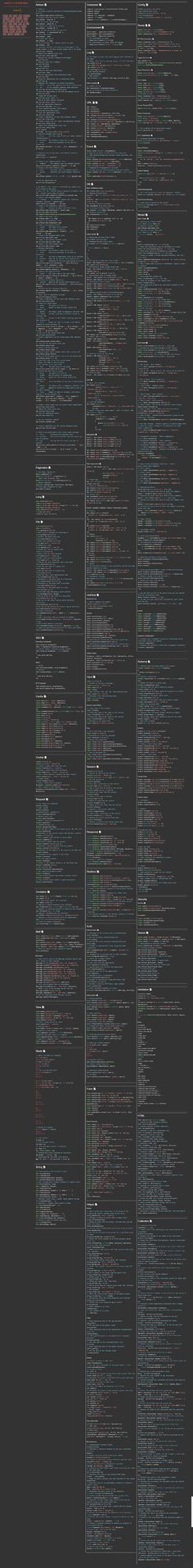 Laravel 5.1 TLS Cheat Sheet #laravel #laravel5.1 #laraveldevelopment…