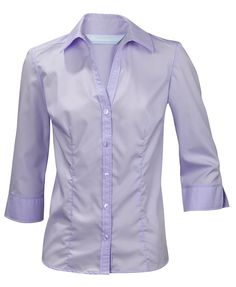a1bafc0ce53e8a Ladies Womens Plus Size Blouse Shirt Top 3 4 Sleeve Easycare Work Office  Formal