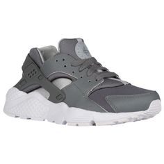 eaf39d2d4060 Nike Huarache Run - Boys  Grade School - Grey   White