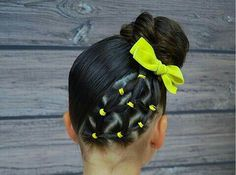 Lil Girl Hairstyles, Girls Natural Hairstyles, Kids Braided Hairstyles, Great Hairstyles, Pelo Natural, Natural Hair Care, Natural Hair Styles, Short Hair Styles, Gymnastics Hair