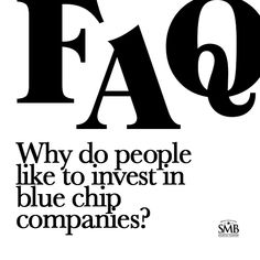 Blue-chip companies are known to weather downturns and operate profitably in the face of adverse economic conditions. Why Do People, People Like, Financial Planning, First Names, Money Tips, Economics, Personal Finance, Saving Money