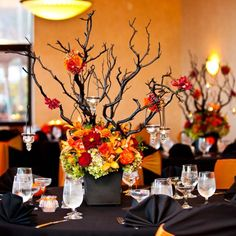 modern halloween wedding laurin brett love is sweet sweet and wedding planning ideas - Halloween Themed Wedding Reception