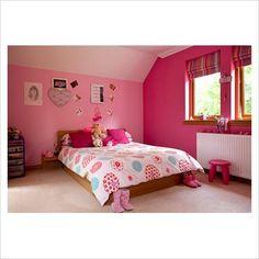 Girl room valances, sheets, pillows