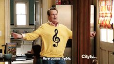 """You can't resist a good pun. 