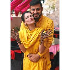 Indian Wedding Couple Photography, Wedding Couple Photos, Couple Photography Poses, Girl Photography, Mehendi Photography, Bridal Photography, Wedding Couples, Poses Pour Photoshoot, Indian Photoshoot