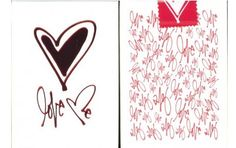 Love Me Playing Cards. $8.95. #Valentinesday Playingcards #poker #magic #games