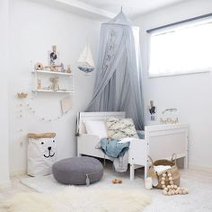 Talans new room by the ocean 😻 our new little Bebe will most likely be sharing the same room, the only room that's actually put together in this house #notevenkidding 🙄