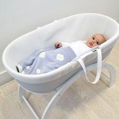 Shnuggle Blue Cloud Blanket in Dreami. babynotincluded · Baby wants d666926c8