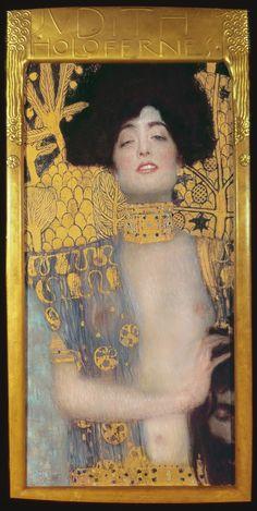 Judith, 1901 by Gustav Klimt Klimt Judith, Michael Lang, Klimt Art, Famous Art, Paul Gauguin, Grafik Design, Art Plastique, Illustrations, Art Inspo