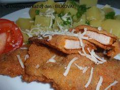 """""""Italské"""" řízky - Naše Dobroty na každý den Tacos, Mexican, Meat, Chicken, Ethnic Recipes, Food, Essen, Meals, Yemek"""