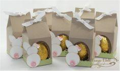 Süße kleine Hoppelhäschen! #stampinup #ostern