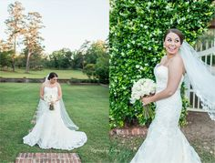 Pebble Hill Plantation | Bridal Session | Southern Bride | Cathedral Veil | Lace Wedding Gown | Captured by Colson Photography | Valdosta Photographer