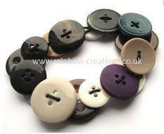 Rainbow Creations - Art and Craft for Children - Blog: Button Bracelet for Children to Make