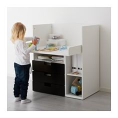 stuva f lja wickeltisch mit 4 schubladen wei home improvement pinterest kinderzimmer. Black Bedroom Furniture Sets. Home Design Ideas