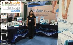 Your Feet Will Love You!...™, visit The Footmate® System (Booth #564) at MedTrade Spring, Las Vegas, NV - Mandalay Bay Convention Center Feb 29 - March 2nd 2016