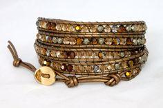 Leather Wrap Bracelet Tutorials
