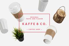 The all-in-one brand hub for in-house creative teams Coffee Shop, Shops, Coffee Branding, Coffee Design, Layout Design, Branding Design, Typography, Lettering, Behance