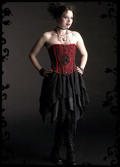 Lanicera Dark Fairy Skirt - Custom Elegant Gothic Clothing and Dark Romantic Couture