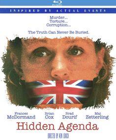 Hidden Agenda - Blu-Ray (Kino Region A) Release Date: September 15, 2015 (Amazon U.S.)