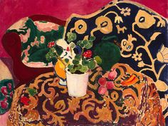 Henri Matisse / Spanish Still Life c. 1910  Melody gave this poster to me.