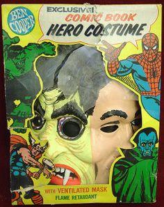 Ben Cooper Monster Man Two Face Halloween Costume