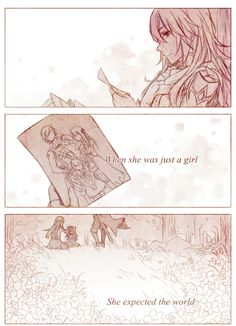 Found this on Tumblr by Rynnae. This is so beautiful! Part 1 #paradise #FireEmblemAwakening