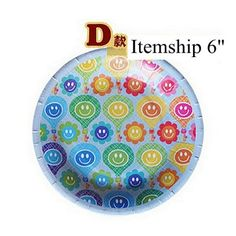 Itemship 20 PCS 6 inch / 8 inch color disposable paper plates grill pan party party paper plates (D) by Itemship, http://www.amazon.ca/dp/B00G9TR1OY/ref=cm_sw_r_pi_dp_J5rCsb12A85AX