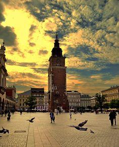 Krakow sunset by Stoica Emilian