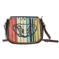 Vintage Style Alabama Crimson Tide Saddle Bags – Best Funny Store