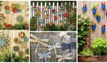 12 Incredible Ways To Decorate Your Fence