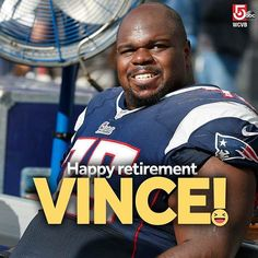 One of our favorite former New England Patriots says he is ready to hang up his cleats. #patriotsnation #patriots #vincewilfork