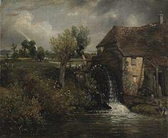 Parham's Mill, Gillingham, Dorset, by Constable